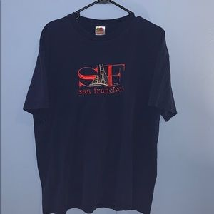 Vintage All Embroidered 90's San Fran T-shirt